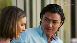 Amy Williams, Leo Tanaka in Neighbours Episode 8267