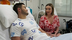 David Tanaka, Amy Williams in Neighbours Episode 8267