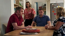 Gary Canning, Amy Williams, Kyle Canning, Sheila Canning in Neighbours Episode 8267