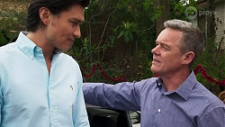 Leo Tanaka, Paul Robinson in Neighbours Episode 8267