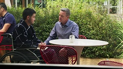 David Tanaka, Paul Robinson in Neighbours Episode 8268