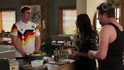Kyle Canning, Dipi Rebecchi, Shane Rebecchi in Neighbours Episode 8269