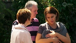 Susan Kennedy, Karl Kennedy, Elly Conway, Aster Conway in Neighbours Episode 8269