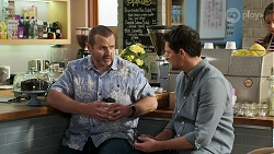 Toadie Rebecchi, Finn Kelly in Neighbours Episode 8270