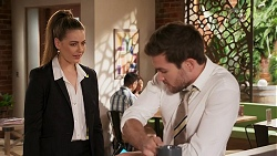 Chloe Brennan, Ned Willis in Neighbours Episode 8271