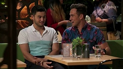 David Tanaka, Aaron Brennan in Neighbours Episode 8272
