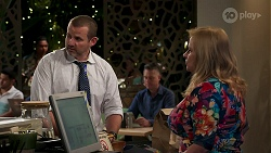 Toadie Rebecchi, Sheila Canning in Neighbours Episode 8272