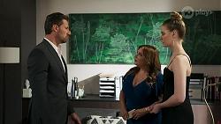 Pierce Greyson, Terese Willis, Chloe Brennan in Neighbours Episode 8273
