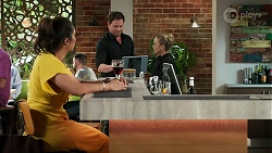 Dipi Rebecchi, Shane Rebecchi, Roxy Willis in Neighbours Episode 8273