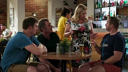 Kyle Canning, Gary Canning, Sheila Canning, Toadie Rebecchi in Neighbours Episode 8273