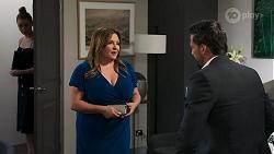 Chloe Brennan, Terese Willis, Pierce Greyson in Neighbours Episode 8273