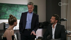 Chloe Brennan, Paul Robinson, Pierce Greyson in Neighbours Episode 8274