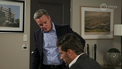 Paul Robinson, Pierce Greyson in Neighbours Episode 8274