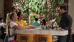Roxy Willis, Dipi Rebecchi, Shane Rebecchi in Neighbours Episode 8275