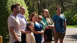 Ned Willis, Toadie Rebecchi, Nell Rebecchi, Terese Willis, Hugo Somers, Harlow Robinson, Kyle Canning in Neighbours Episode 8275