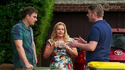 Kyle Canning, Sheila Canning, Gary Canning in Neighbours Episode 8276