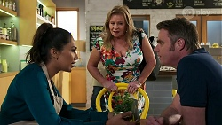 Dipi Rebecchi, Sheila Canning, Gary Canning in Neighbours Episode 8276