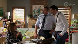 Terese Willis, Toadie Rebecchi, Finn Kelly in Neighbours Episode 8276