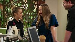 Roxy Willis, Harlow Robinson, Shane Rebecchi in Neighbours Episode 8277