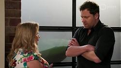 Sheila Canning, Shane Rebecchi in Neighbours Episode 8277