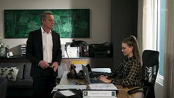 Paul Robinson, Chloe Brennan in Neighbours Episode 8278