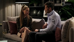 Chloe Brennan, Pierce Greyson in Neighbours Episode 8279