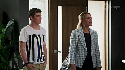Hendrix Greyson, Lisa Rowsthorn in Neighbours Episode 8280