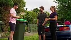 David Tanaka, Ned Willis, Harlow Robinson in Neighbours Episode 8280