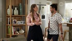 Harlow Robinson, David Tanaka in Neighbours Episode 8280
