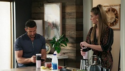 Pierce Greyson, Chloe Brennan in Neighbours Episode 8280