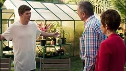 Hendrix Greyson, Karl Kennedy, Susan Kennedy in Neighbours Episode 8281