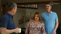 Paul Robinson, Terese Willis, Gary Canning in Neighbours Episode 8281