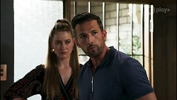 Chloe Brennan, Pierce Greyson in Neighbours Episode 8281