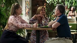 Harlow Robinson, Terese Willis, Paul Robinson in Neighbours Episode 8281