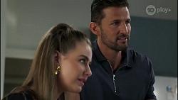 Chloe Brennan, Pierce Greyson in Neighbours Episode 8282