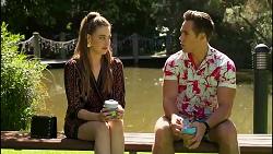 Chloe Brennan, Aaron Brennan in Neighbours Episode 8282
