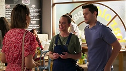 Elly Conway, Bea Nilsson, Finn Kelly in Neighbours Episode 8283