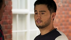 Aaron Brennan, David Tanaka in Neighbours Episode 8283
