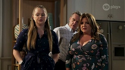 Harlow Robinson, Paul Robinson, Terese Willis in Neighbours Episode 8285