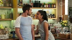 Ned Willis, Yashvi Rebecchi in Neighbours Episode 8285