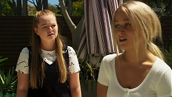 Harlow Robinson, Roxy Willis in Neighbours Episode 8285