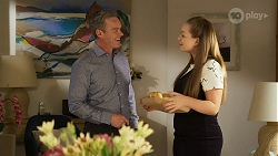 Paul Robinson, Harlow Robinson in Neighbours Episode 8285