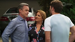 Paul Robinson, Terese Willis, Ned Willis in Neighbours Episode 8285