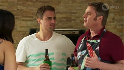 Dipi Rebecchi, Kyle Canning, Gary Canning in Neighbours Episode 8285