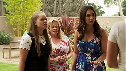 Harlow Robinson, Sheila Canning, Dipi Rebecchi, Roxy Willis in Neighbours Episode 8286
