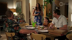Toadie Rebecchi, Dipi Rebecchi, Nell Rebecchi, Shane Rebecchi in Neighbours Episode 8286