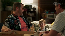 Toadie Rebecchi, Hugo Somers, Shane Rebecchi in Neighbours Episode 8286