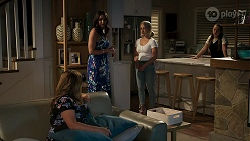 Sheila Canning, Dipi Rebecchi, Roxy Willis, Harlow Robinson in Neighbours Episode 8286