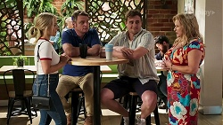 Roxy Willis, Gary Canning, Kyle Canning, Sheila Canning in Neighbours Episode 8286