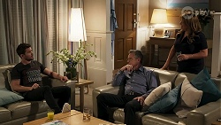 Ned Willis, Paul Robinson, Terese Willis in Neighbours Episode 8288
